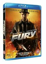 Fury (Blu-ray, 2012) New Sealed Samuel L Jackson