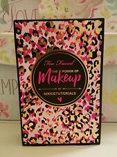 TOO FACED PALETTE NIKKIE TUTORIALS THE POWER OF MAKEUP SET LTD ED AUTHENTIC