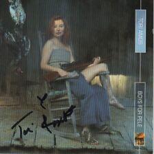 "Tori Amos Autogramm signed CD Booklet  ""Boys for Pele"""
