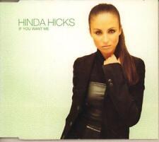 Hinda Hicks(CD Single)If You Want Me-New