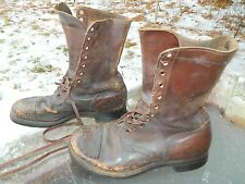 Mid-Century, Unknown Brand Combat Boots / Us Men size: 9 1/2 Ee / Pre-owned