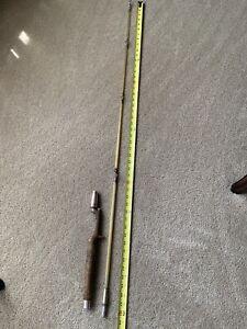 Vintage Heddon Pal Musky Special Casting Rod 6273 Sturdy 5 Ft. Fiberglass