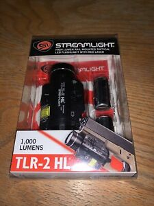 Streamlight TLR-2 HL High Lumen Weapon Flashlight W/Red Laser Sight 69261