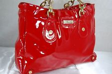 SUPPER BEAUTIFUL!!!  CC SKYE RED PATENT LEATHER  LARGE  HOBO  HAND  BAG