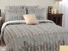Canterbury VIENNA Luxury Jacquard Queen Size Quilt Doona Cover Set