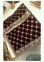 Embroided Velvet Shawl Premium Quality Micro Velvet
