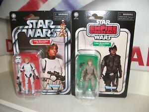 star wars vintage collection Luke Skywalker JOB LOT BUNDLE NEW bespin & trooper