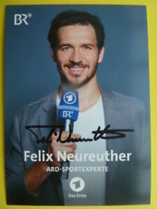 "Felix Neureuther - Das Erste BR Karte (2020) ""ARD-Sportexperte"""
