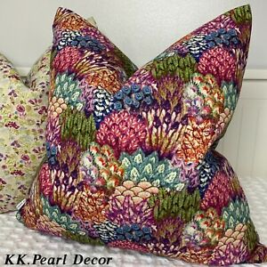 Art Of The Loom Peacock Scatter Cushion Cover Double Sided High Quality !