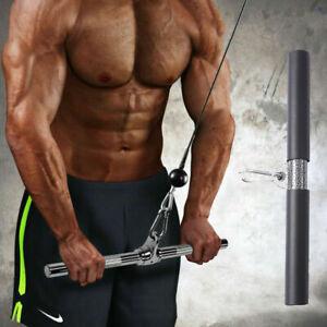 BESPORTBLE Trizepsstange Latzugstange 40cm DIY Zubeh/ör f/ür Muskeltraining Bodybuilding Krafttraining Fitnessstudio Zuhause Crossfit Fitnesszubeh/ör