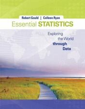 Essential Statistics Exploring World Data + CD Gould Ryan Unmarked SB