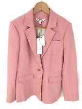 Elizabeth and James Carson Crepe Blazer - Dahlia Pink - UK12/US8 - RRP £475 New