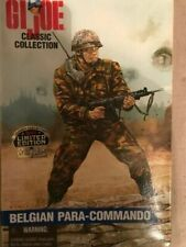 Hasbro G.I. Joe Classic Collection Foreign Soldiers Belgian Para-commando Action Figure