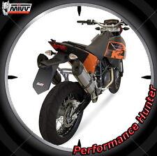 EXHAUST MIVV SUONO STEEL KTM 690 SM 2007 > 2015