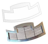 3 x Schutzfolie für Jura S8 - S80 & E6 E60 E8 E80 Tassenablage Tassenplattform