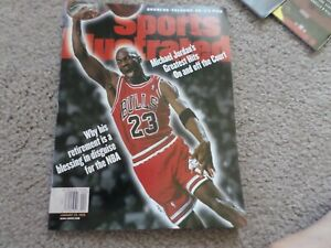 Newsstand Sports Illustrated Michael Jordan featured AFC/NFC Championships mint!
