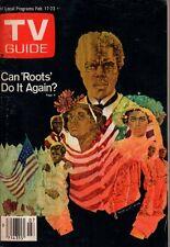 1979 TV Guide February 17 - Roots; Loni anderson; Jim Davis of Dallas; Sports