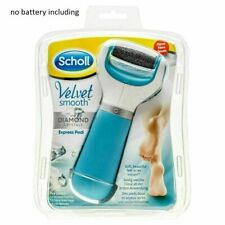 Scholl Velvet Smooth Express Pedi Electronic Foot File and Roller UK
