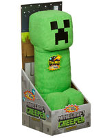 "Minecraft Creeper 14"" Plush Toy with Sound Toy"
