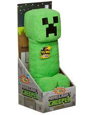"Minecraft Creeper 14"" Plush  With Sound  Soft Toy"