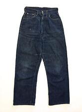 AUTH VINTAGE 1950 LEVIS XX BIG E RIVETS WWII Rare Jeans Denim Zipper Redline W28