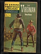 Classics Illustrated #150 Vg Hrn164 (The Virginian) Free Shipping On $15 Order!
