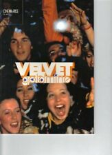 VELVET GOLDMINE JAPAN MOVIE PROGRAM BOOK 1998 Ewan McGregor Lyndsay Kemp