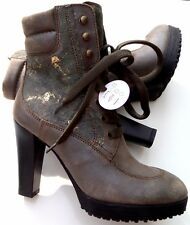 T O P HOGAN by TOD`S Plateau ANKLE BOOT STIEFELETTE Art i d Gr 37.5 e v t l 38