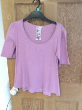 Women's Next cot5on 3/4 sleeve  top size 12