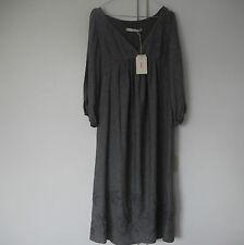 Neu Original Jucca Kleid aus Seide Silk Dress Robe en soie grau grey gris Gr. 38