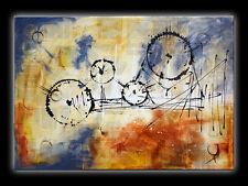 KARUSSELL Bild Unikat Acryl Gemälde Handgemalt Wandbild modern Abstrakt Kunst