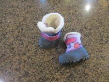 Sorel Snow Winter Boots girls Toddler 5 EUR 22 Purple pink Faux Fur NV1805-501