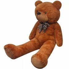 vidaXL Teddybeer Zacht Pluche Bruin Speelgoed Knuffel Knuffelbeer Speelknuffel