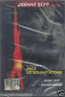 Dvd **JACK LO SQUARTATORE** con Johnny Depp nuovo 2001