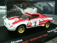 LANCIA Stratos HF Rallye Tour de Corse TdC 1974 Andruet IXO Altaya 1:43