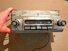 1953 1954 Chevy Radio used original condition Chevrolet #531 knobs bezel