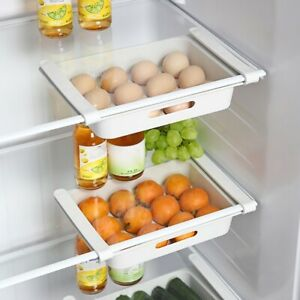12 Grid Drawer Egg Fridge Storage Box Case Food Container Tray Holder Save Space