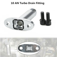 Extended 10 AN Turbo Drain Fitting Kit for T3/T4 Oil Cooled Turbochargers Flange