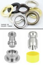 Curtain Eyelets Grommet 1 1/2 ID (40 mm) #12 cut & attach tool +100 grom&washers