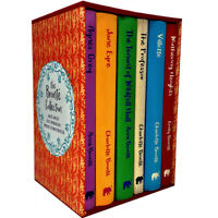 The Bronte Agnes Grey,Jane Eyre,The Professor 6 Books Collection Box Set NEW