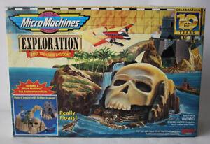 VINTAGE 1996 MICRO MACHINES EXPLORATION LOST TREASURE LAGOON GALOOB NEW MIB !
