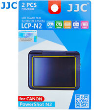JJC LCP-N2 LCD Guard Film Camera Screen Display Protector for CANON PowerShot N2