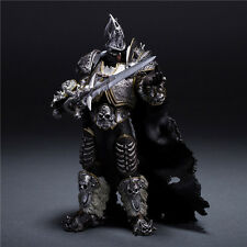 "WOW World of Warcraft Arthas Fall of The Lich King Arthas Menethil 7"" Figure New"