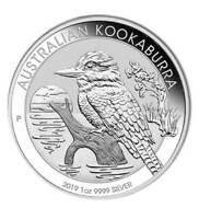 Silbermünze Australien 1 AUD Kookaburra 2019 1 oz Unze Silber