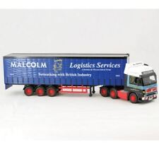 Saico Malcolm Logistics Curtainside Lorry & Trailer Die-cast model 1:64 - 46600W