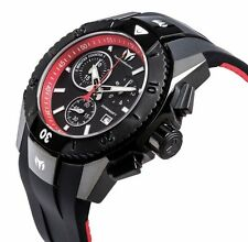 Technomarine TM-616002 Men's UF6 Collection Black and Red Swiss Watch