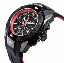Technomarine TM-616002 Men's UF6 Collection Black and Red Swiss Watch
