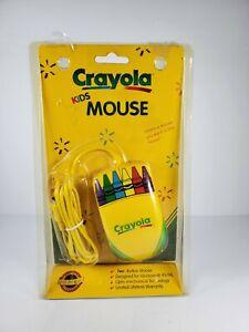 Vintage 90s Crayola Kids 2 Button Mouse Computer Windows 95/98 Model CM100
