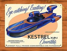 Disney Tin Sign Star Wars Kestrel X34 Convertible Art Painting Movie Poster