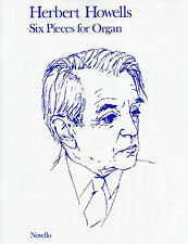 Howells Six Pieces for Organ Learn to Play Classical Keyboard Music Book